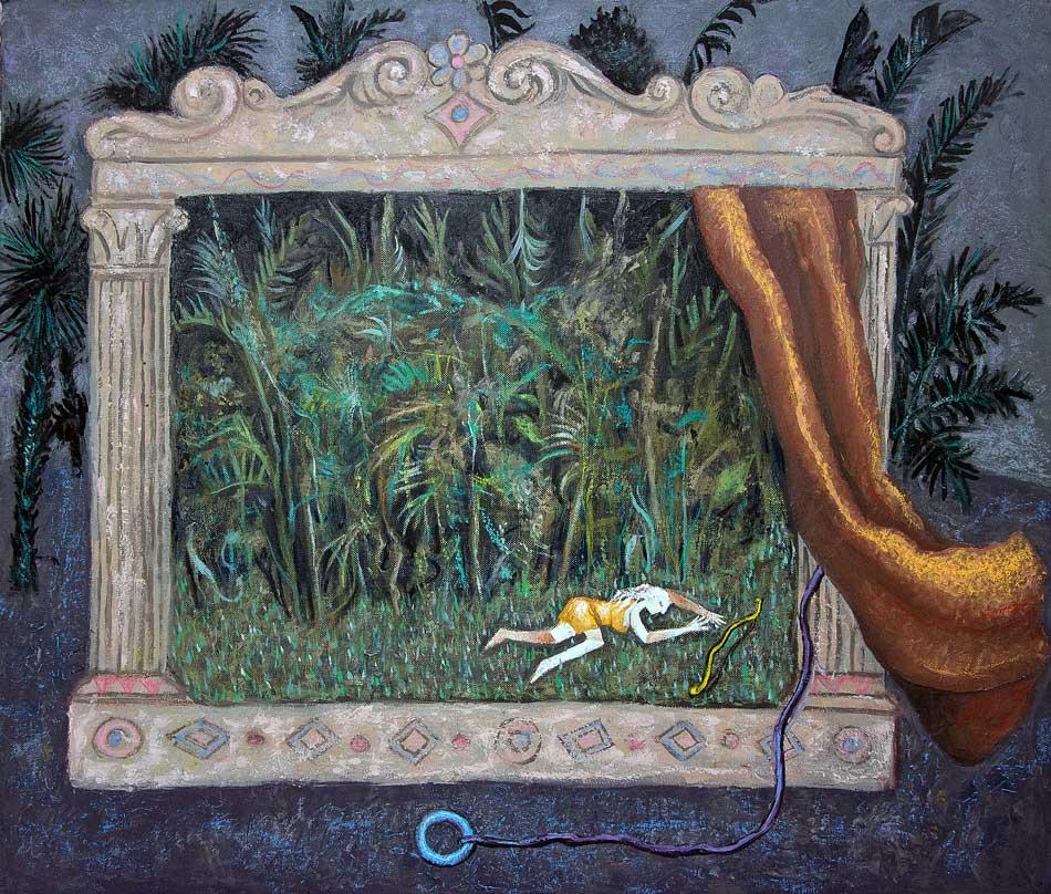 2014---amazzonia-olio-su-tela-60x70