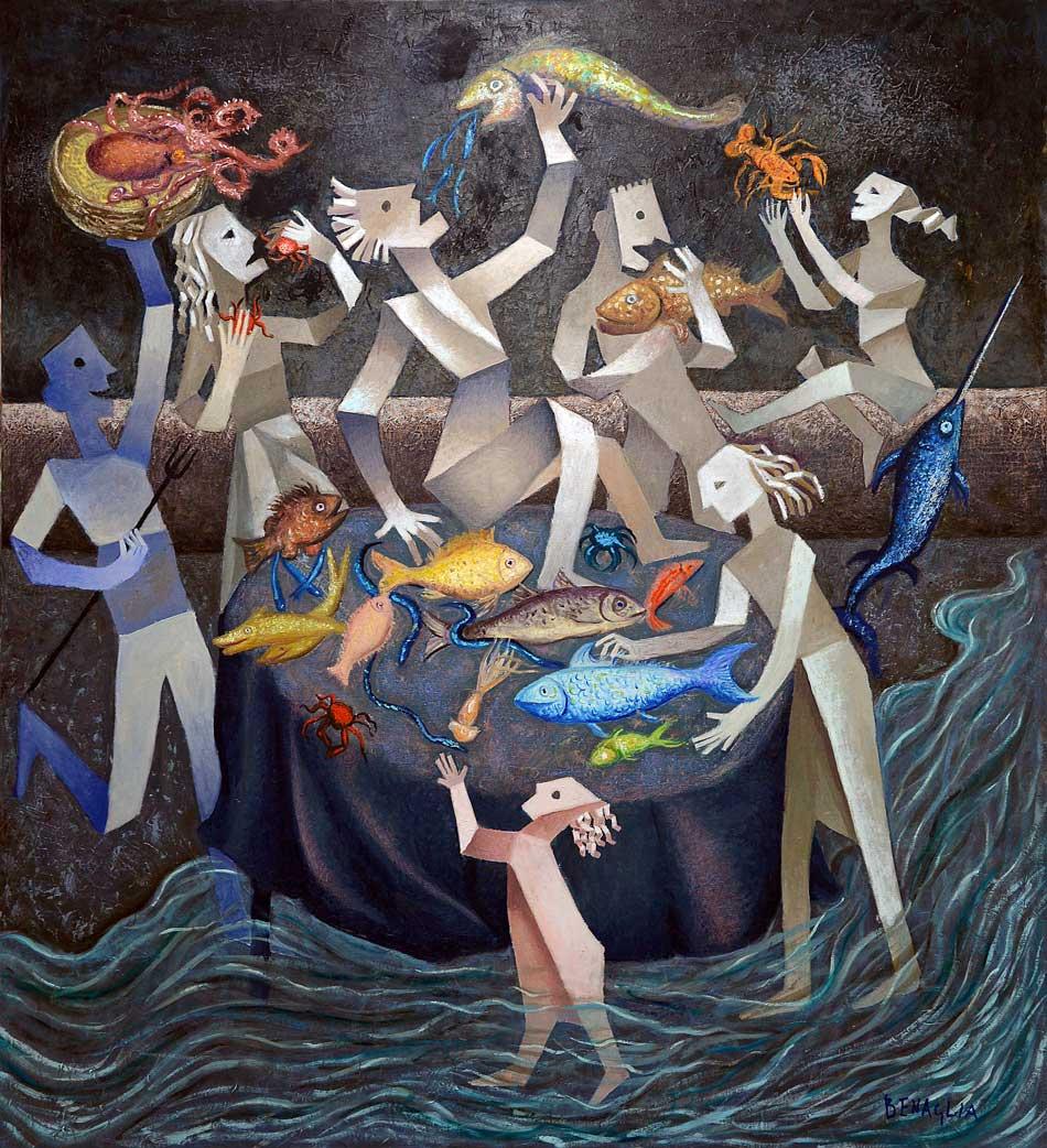 2015---i-mangiatori-del-mare-olio-su-tela-100x110